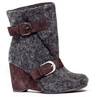 MUK LUKS Melissa Women's Wedge Ankle Boots