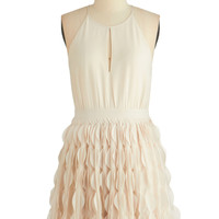 ModCloth Short Spaghetti Straps A-line Chimerically Yours Dress