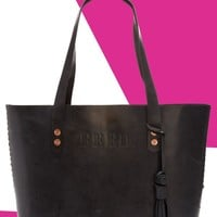 FEED Leather Tote