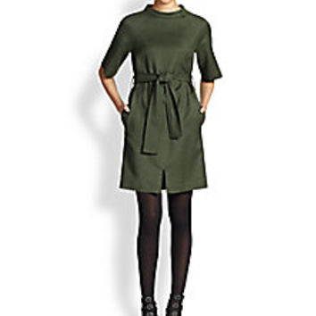 Marc by Marc Jacobs - Junko Belted Wool Dress - Saks Fifth Avenue Mobile