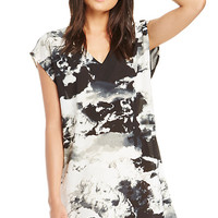 DailyLook: BB Dakota Tanzine Dress in Black / White XS - L