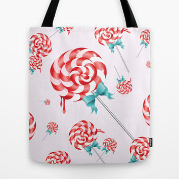 Lollies Tote Bag by All Is One