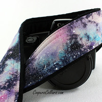 317 Galaxy Camera Strap, OOAK Hand painted, One of a Kind, dSLR or SLR, Cosmos, Nebula, OOAK