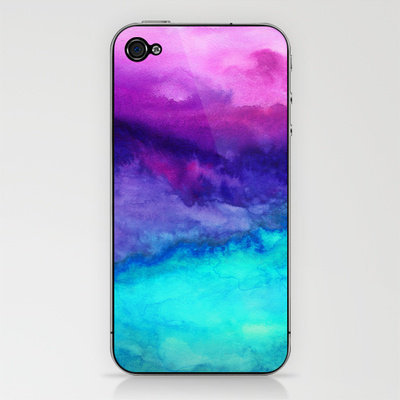 The Sound iPhone &amp; iPod Skin by Jacqueline Maldonado | Society6