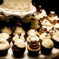 style me pretty : wedding inspiration : cake and cupcakes