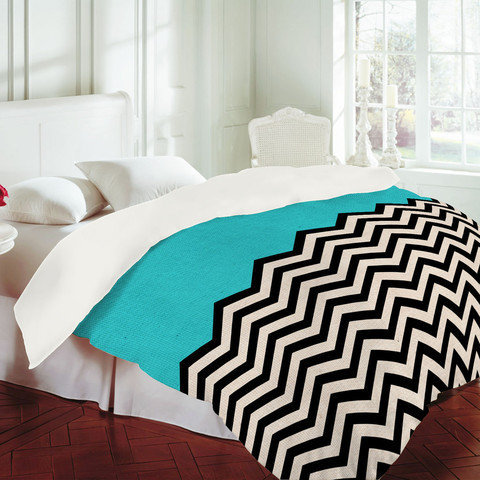Follow The Sky - Duvet Cover by Bianca Green | DENY Designs