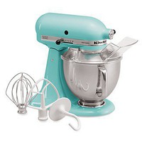 "KitchenAid ""Artisan"" 5 Quart Tilt Head Stand Mixer, Aqua Sky - Sale - Bloomingdales.com"