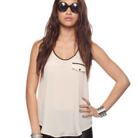 Contrast Trim Tank | FOREVER21 - 2000039624