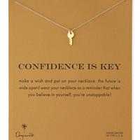Gold-Dipped Confidence is Key Necklace - Dogeared - Gold