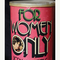"Vintage Ephemera, Adult Puzzle ""For Women Only"""