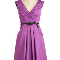 Occasion by Me Dress in Violet | Mod Retro Vintage Dresses | ModCloth.com