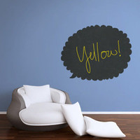 Pop + Shorty — CHALKBOARD TALK BUBBLE DECAL