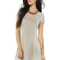 Papaya Clothing Online :: ESSENTIAL SOLID FLARE DRESS