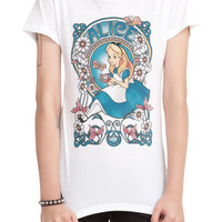 Disney Alice In Wonderland Nouveau Girls T-Shirt