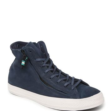 Converse Chuck Taylor All Star Hi Double Zip Moon Shoes - Mens Shoes - Blue