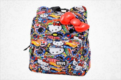 shop.sanrio.com - Hello Kitty Backpack: Bow Collage