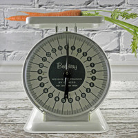 Vintage Kitchen Scale by Bestway Very Farmhouse Shabby Chic