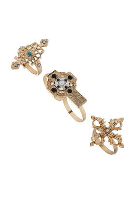Cross Relic Ring Set - Jewelry  - Accessories