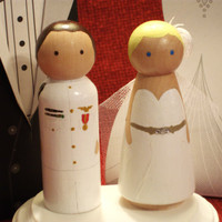 Navy Cake Topper - Fully Customizable--Navy, Army, Marines, National Guard, Coast Guard