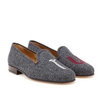 STUBBS & WOOTTON | Wool Screw You Loafers | Browns fashion & designer clothes & clothing