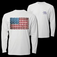 Southern Cross Apparel - Product Details | American Fish Flag | Ultra Performance | Men's/Unisex | Southern Cross Apparel