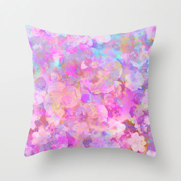 Spring #3 Throw Pillow by Ornaart | Society6