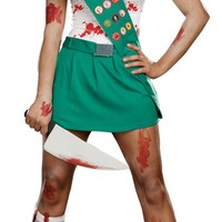 Ghoul Scout Sexy Zombie Costume - Adult Costumes