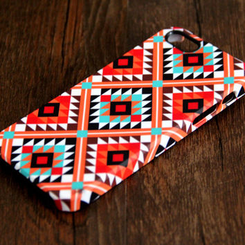 Navajo Seamless Geometric 3D-Wrap iPhone 5S 5 5C 4S 4 Case | Ac.y.c