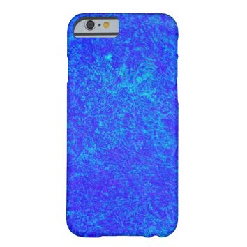 Neon Blue iPhone 6 Case