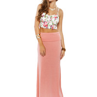 Papaya Clothing Online :: MUST HAVE SOLID MAXI SKIRTS