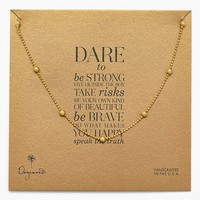 Dogeared Boxed Station Necklace (Nordstrom Exclusive)
