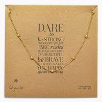 Women's Dogeared Boxed Station Necklace (Nordstrom Exclusive)