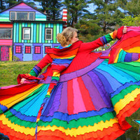 Elf Coat by Katwise - OOAK Rainbow Magic - Tutorial PDF