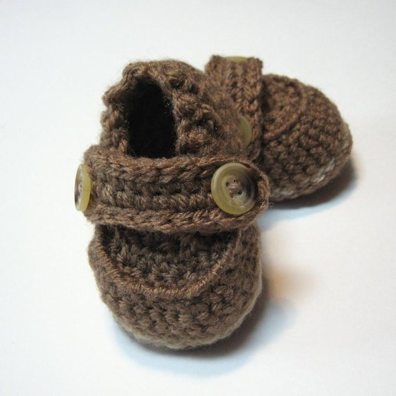 Crochet baby boy shoes Baby booties for from