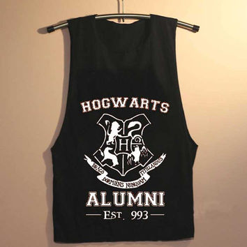 hogwarts alumni yuppy shop for Tank top Mens and Girls available S - XXL customized
