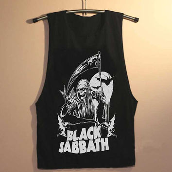 black sabbath yuppy shop for Tank top Mens and Girls available S - XXL customized