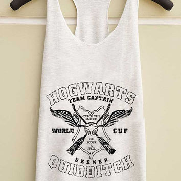 hogwarts quidditch yuppy shop for Tank top Mens and Girls available S - XXL customized