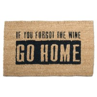 "Tag 203695 ""Where's The Wine?"" Doormat, 18 by 30-Inch"