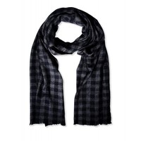 Marni Plaid Scarf - Frayed Edge Scarf - ShopBAZAAR