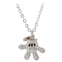 Swarovski Crystal Glove Mickey Mouse Necklace by Arribas | Jewelry | Disney Store