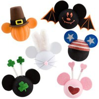 All-Holiday Mickey Mouse Antenna Toppers -- 6-Pc. | Car Accessories | Disney Store