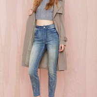 Nasty Gal Denim - The Distressed Out in Painted Love