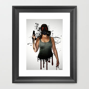 Bellatrix Framed Art Print by Nicklas Gustafsson