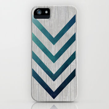 Blue Arrow iPhone & iPod Case by LouJah