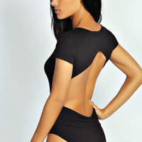 Davina Open Back Bodysuit
