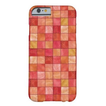 Red Tile pattern iPhone 6 Case