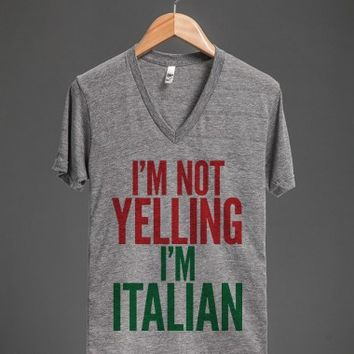 White/Black T-Shirt | Funny Italy Shirts