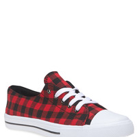 Classic Plaid Sneakers | Wet Seal