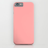 Coral Pink iPhone & iPod Case by BeautifulHomes