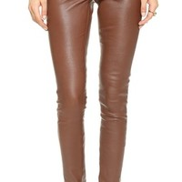 Elenaso Leather Leggings